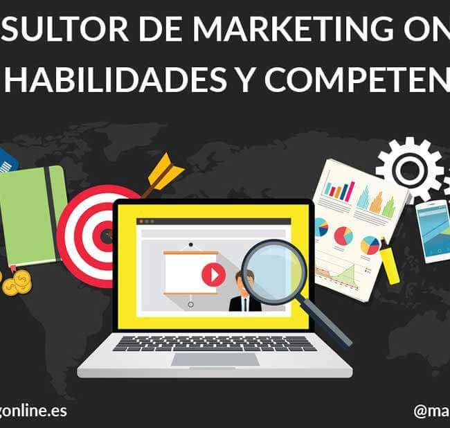 Marketing Digital y Gestión de Proyectos Digitales - Consultor de marketing online, 135 habilidades y competencias.