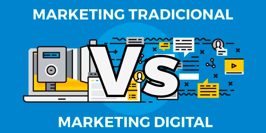 Marketing Tradicional vs Digital. Marketing mix, relacional y retail marketing.