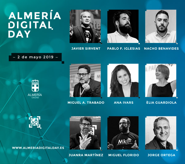 Marketing Digital y Gestión de Proyectos Digitales - Almería Digital Day 2019